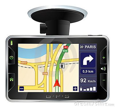 Free Modern GPS Royalty Free Stock Image - 7664096