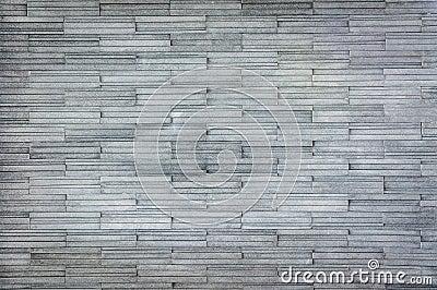 Modern gray slate Stone Wall