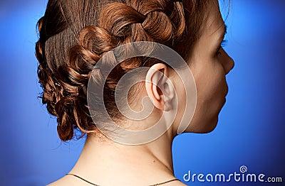 Modern hairdo