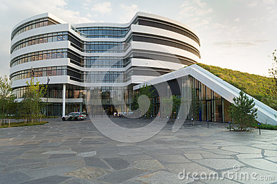 Modern headquarter building Editorial Stock Photo