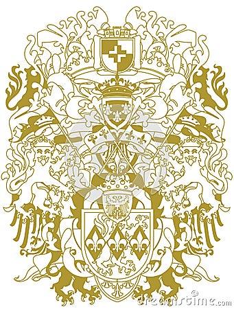 Modern heraldry design