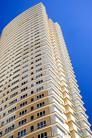 Free Modern Hi-Rise Apartments Stock Photography - 4312022