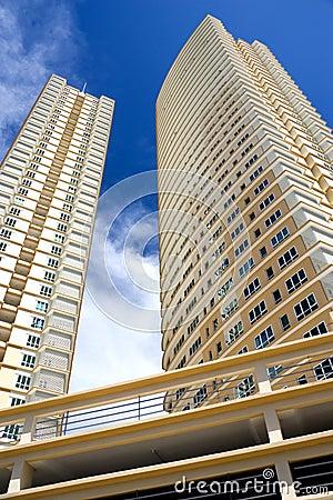 Free Modern Hi-Rise Apartments Stock Photo - 4312070
