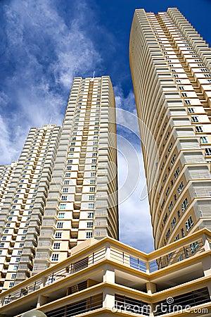 Free Modern Hi-Rise Apartments Stock Images - 4312114
