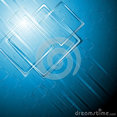 Modern hi-tech vector background