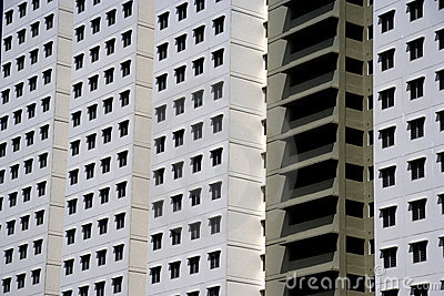 Modern High Density Housing