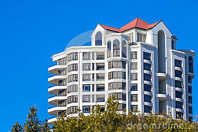 Modern High Rise Condominium Stock Photo Image 48506995