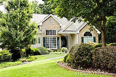 Modern Home/Front Landscape