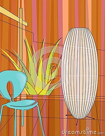 Modern home indoor garden