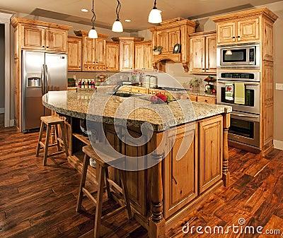 Built In Kitchen Island