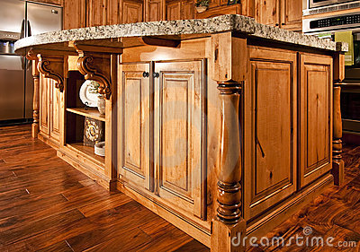 Modern Home Kitchen Center Island Countertop