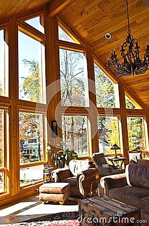Modern Home Room/Windows
