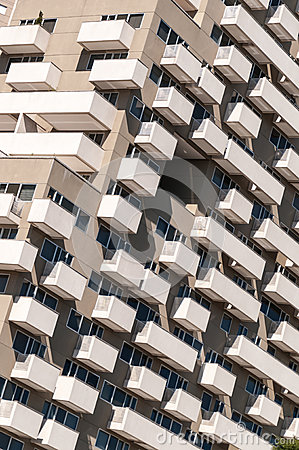 Free Modern Hotel Building Detail Stock Photography - 26303852
