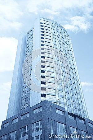 Modern hotel buildings