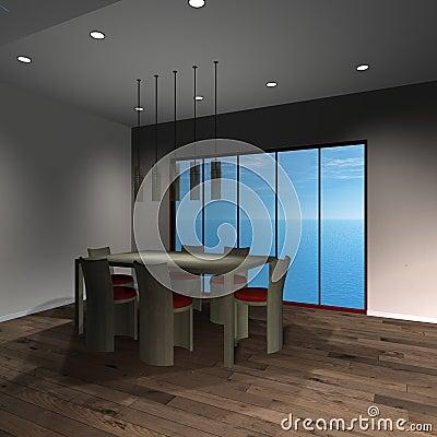 Modern House - Diningroom