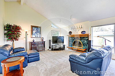 Modern house interior.