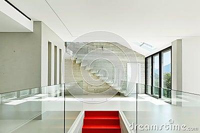 Modern house, staircase