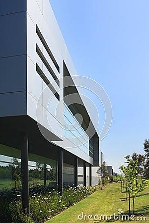 Modern Industrial Building