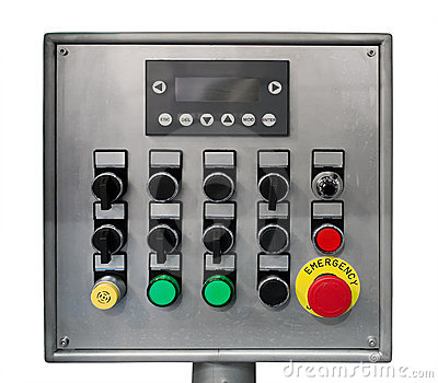 Modern industrial control panel