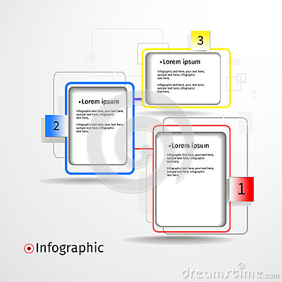 Modern infogfaphic paper options