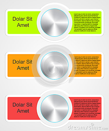 Modern infographic template for business design