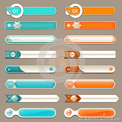 Free Modern Infographics Options Banner. Vector Illustration. Can Be Used For Workflow Layout, Diagram, Number Options, Web Design Stock Images - 42749424