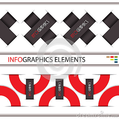 Modern Infographics template for business design.