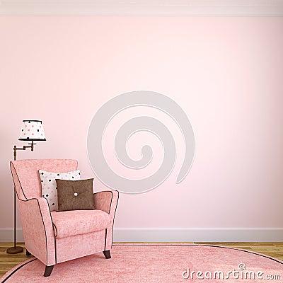 Free Modern Interior. Stock Photos - 38169163