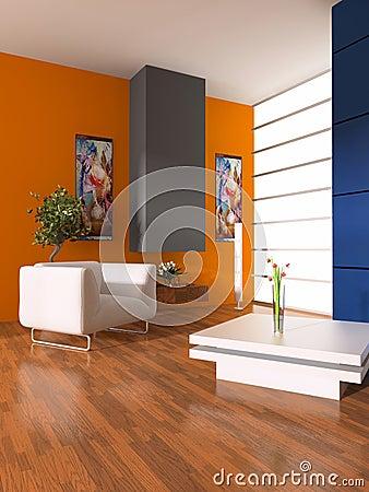 Free Modern Interior Royalty Free Stock Photos - 5369618