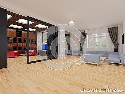 Modern interior of apartment