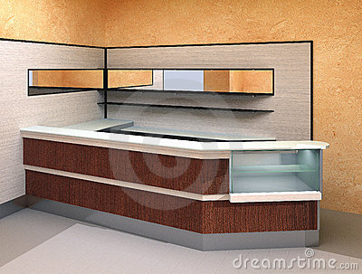 Modern interior - Bar