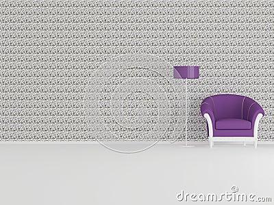 Modern interior design, minimalism
