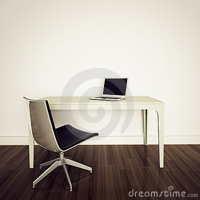 Free Modern Interior Office Royalty Free Stock Photography - 18182737