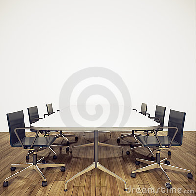 Free Modern Interior Office Royalty Free Stock Photos - 18183078