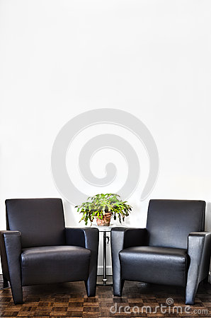 Free Modern Interior Room And White Wall Stock Images - 38588684