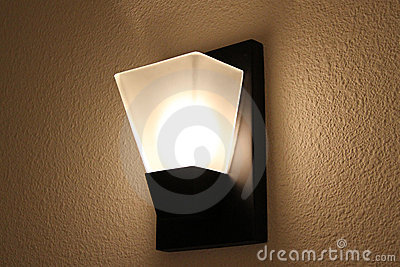 Modern interior wall light
