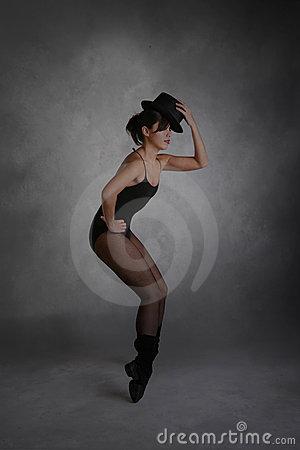 Modern Jazz Dancer Posing