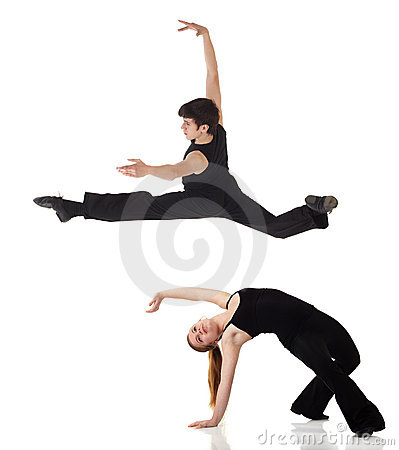 Modern Jazz dancers