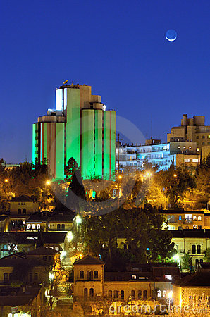 Modern Jerusalem Skyline