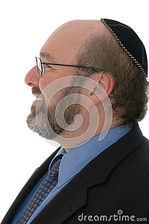 Modern jewish man