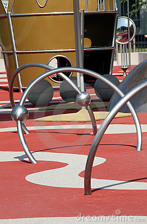 Modern kids playground