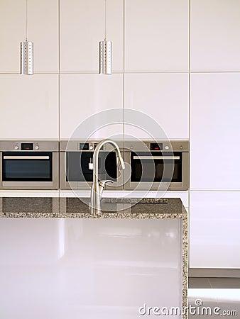 Modern kitchen close-up