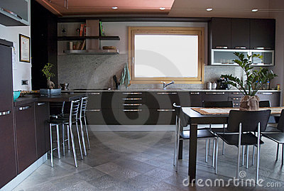 Modern kitchen - interior