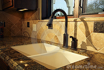 Modern Kitchen Sink and Fixtures