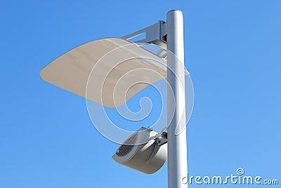 Modern lantern of street illumination