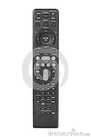Modern LCD TV remote control