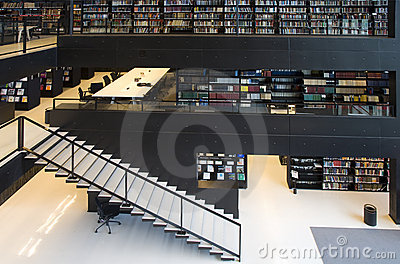 Modern library interior foto spiderpic royalty vrije stock foto 39 s - Moderne bibliotheek ...