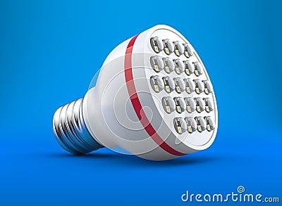 Modern light-emitting diode lamp