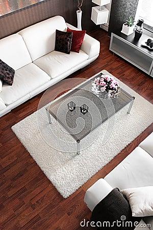 Free Modern Living Room Stock Image - 16871351