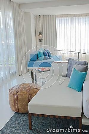 Free Modern Living Room Stock Image - 31770601